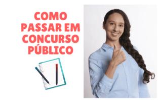 Como Passar Em Concursos Públicos