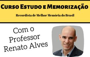 Renato Alves Curso de Memorização