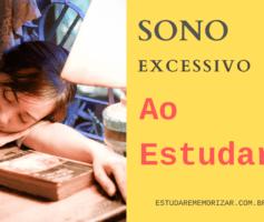 Como Diminuir SONO EXCESSIVO ao estudar