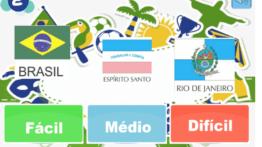 JOGO DA MEMÓRIA das Bandeiras dos Estados Brasileiros