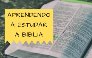 Aprendendo a Estudar a Bíblia