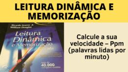 Calcule Sua Velocidade de Leitura | Questões