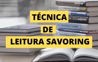 Técnica de Leitura Savoring