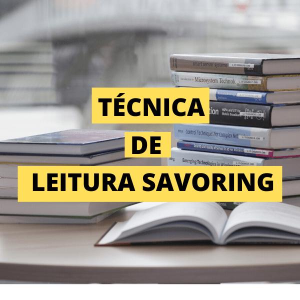 leitura savoring