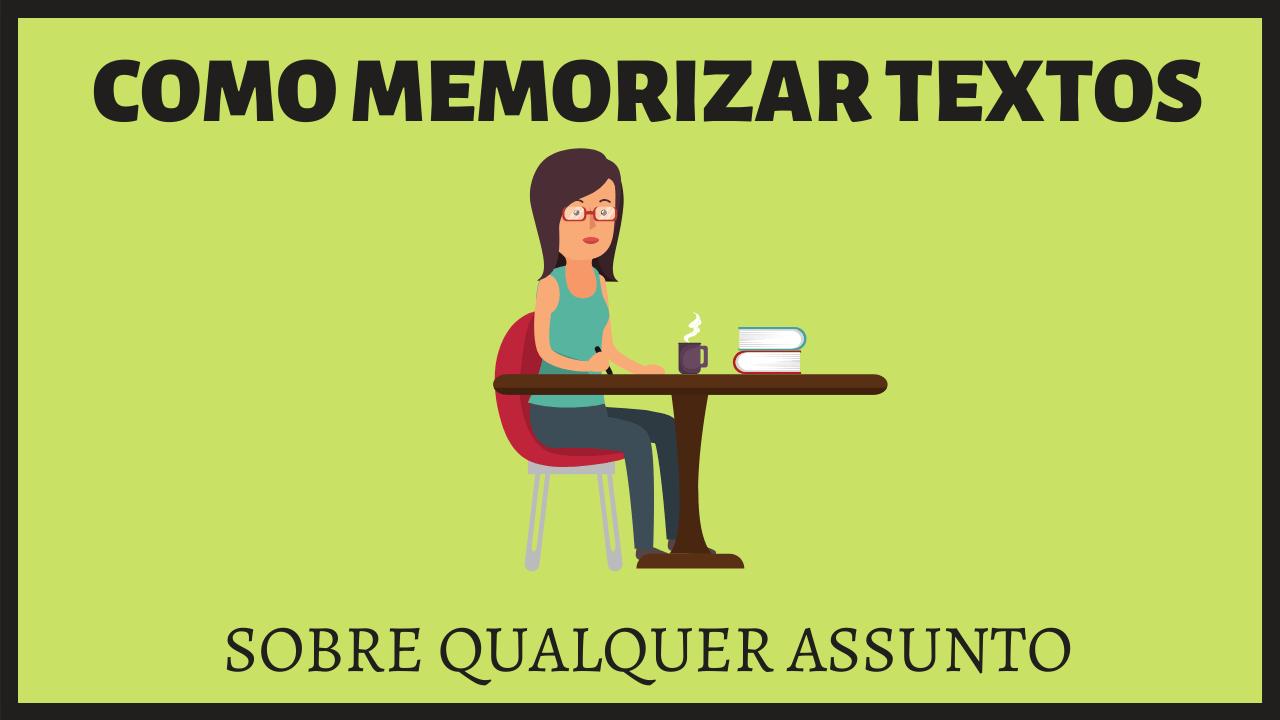 memorizar texto