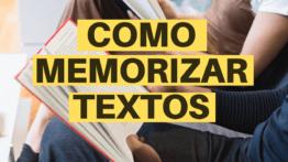 Técnicas Para Memorizar Textos